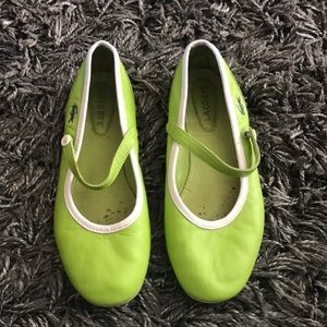 Lacoste green flats 7